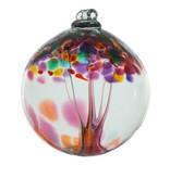 Kitras Glass Kitras Tree Of Gratitude Glass Ball 2in