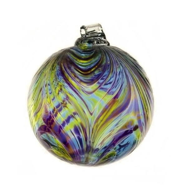 Feather Glass Ball