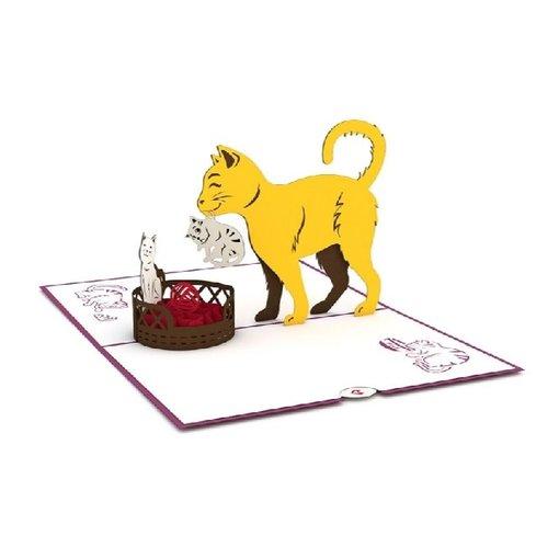 Lovepop 3D Cat Family Card