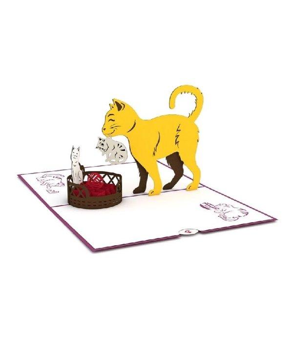 Lovepop Lovepop- 3D Cat Family Card