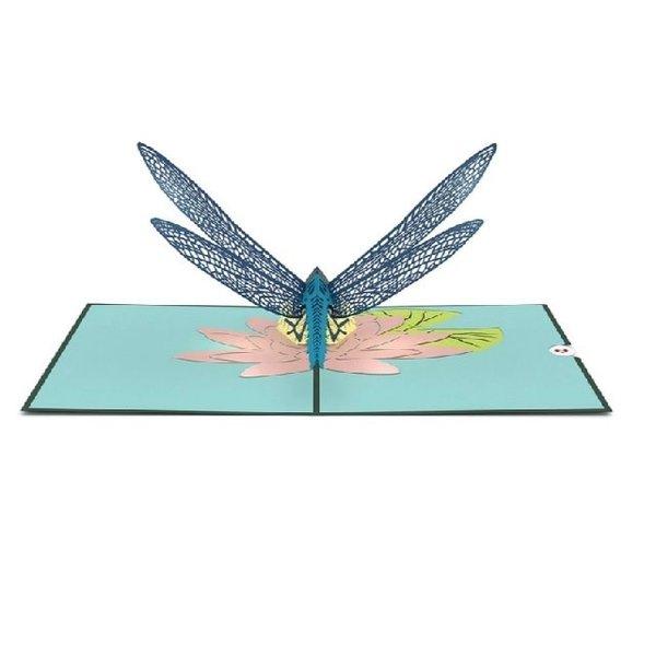 3D Dragonfly Card