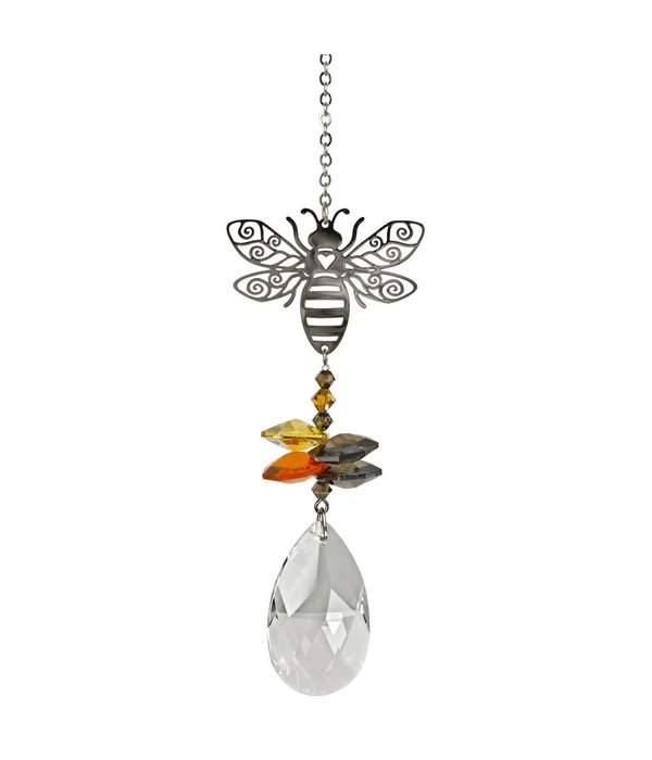 Crystal Fantasy Bee Suncatcher