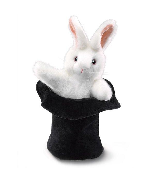 Rabbit In Hat Puppet