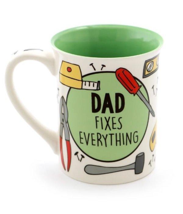Dad Fixes Everything Mug