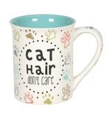 Cat Hair Don't Care Mug