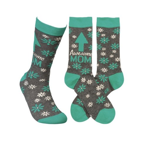 Primitives Awesome Mom Socks