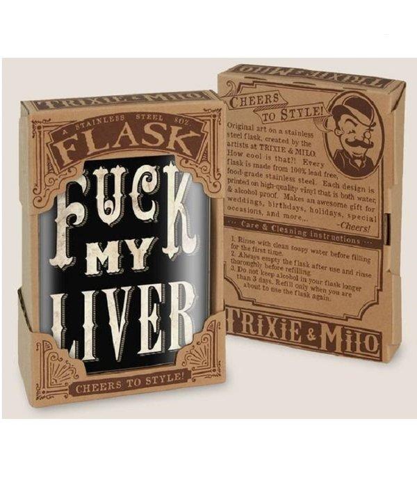F*ck My Liver Flask
