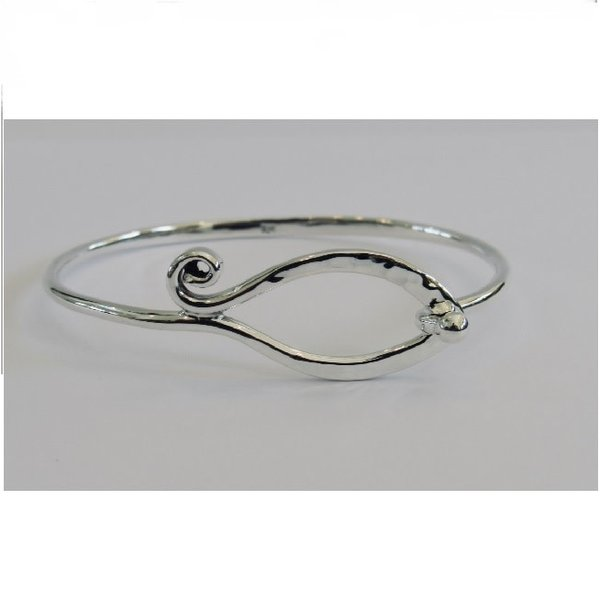 Swirl And Hook Bracelet