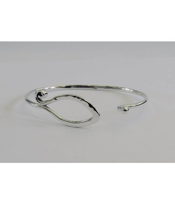 Swirl And Hook Bracelet