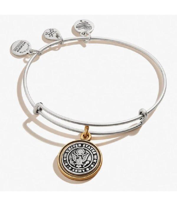 Alex and Ani- Army Bracelet