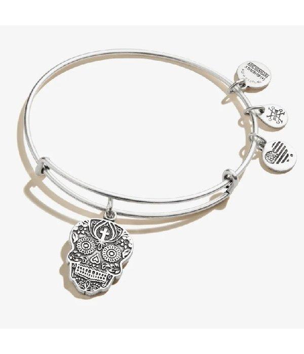 Alex and Ani- Calavera Skull Bracelet