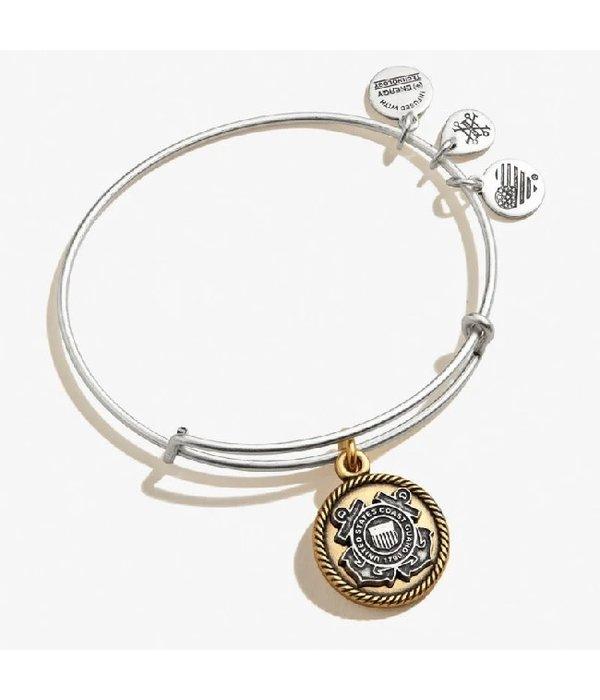 Alex and Ani- Coast Guard Bracelet