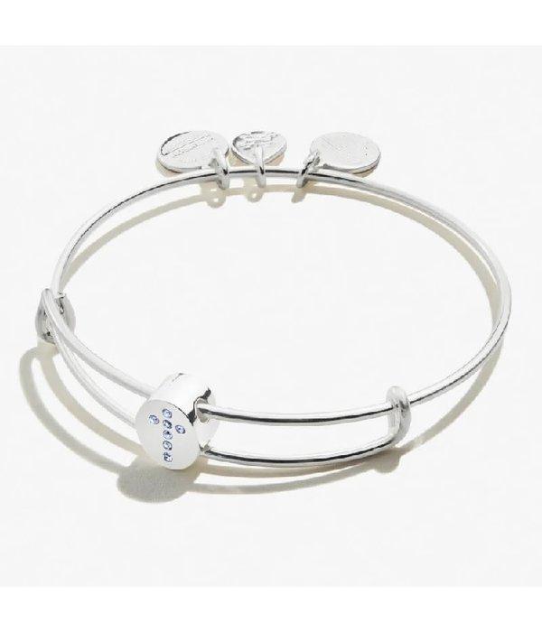 Alex and Ani- Pave Cross Bracelet