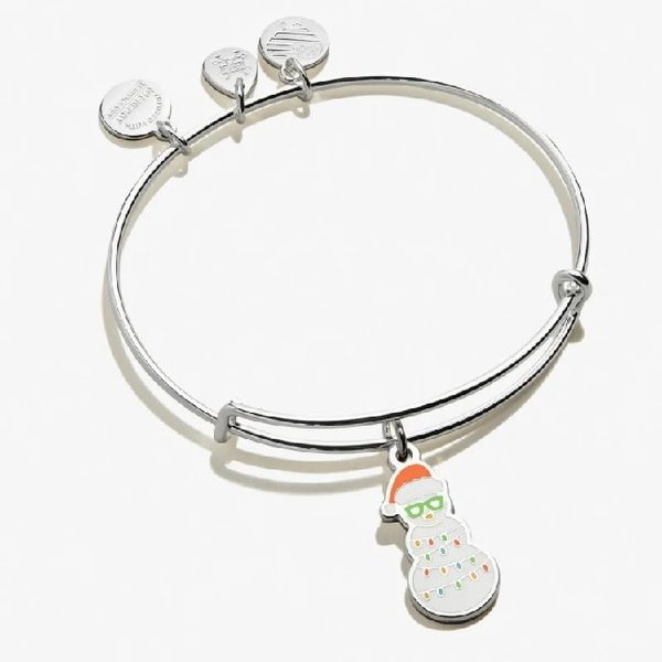 Holiday Snowman Bracelet