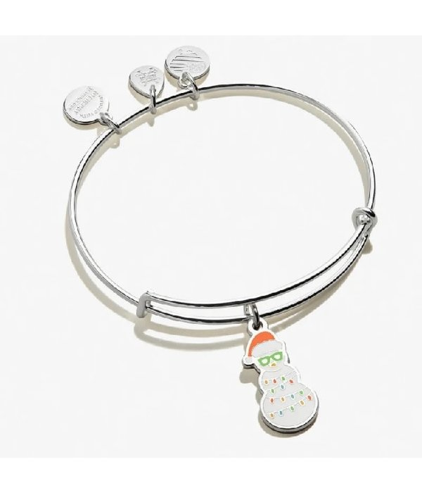 Alex and Ani- Holiday Snowman Bracelet