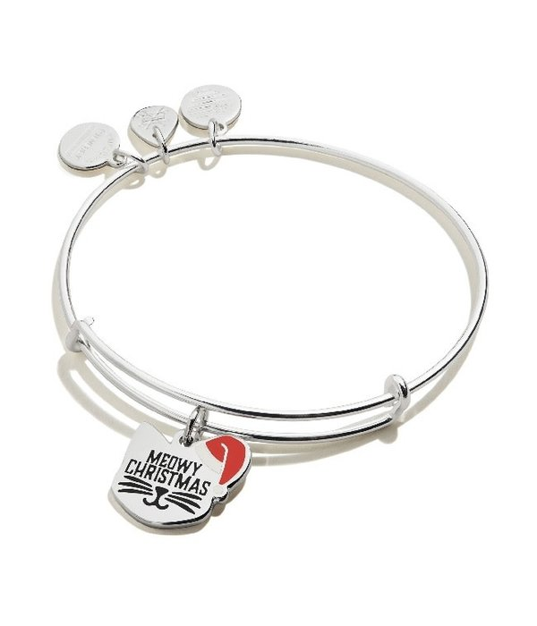 Alex and Ani- Meowy Christmas Bracelet