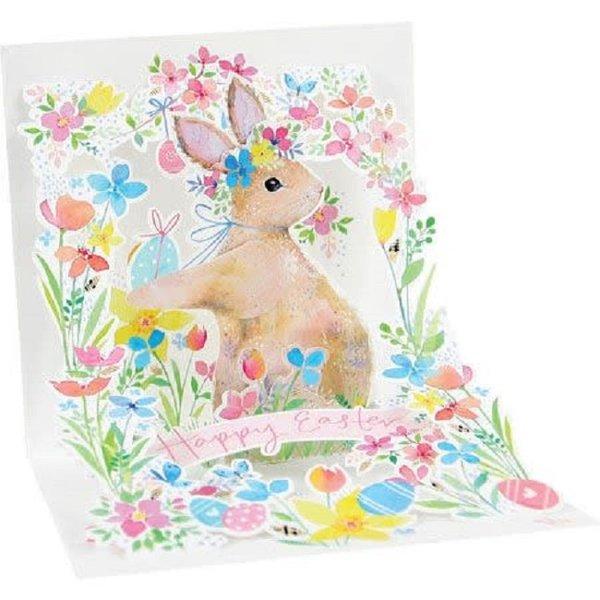 Easter Card - Garden Rabbit