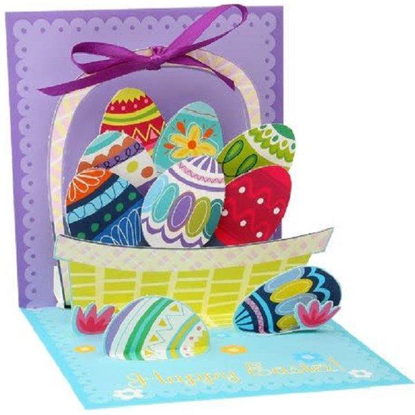 Easter Card -  Egg Basket