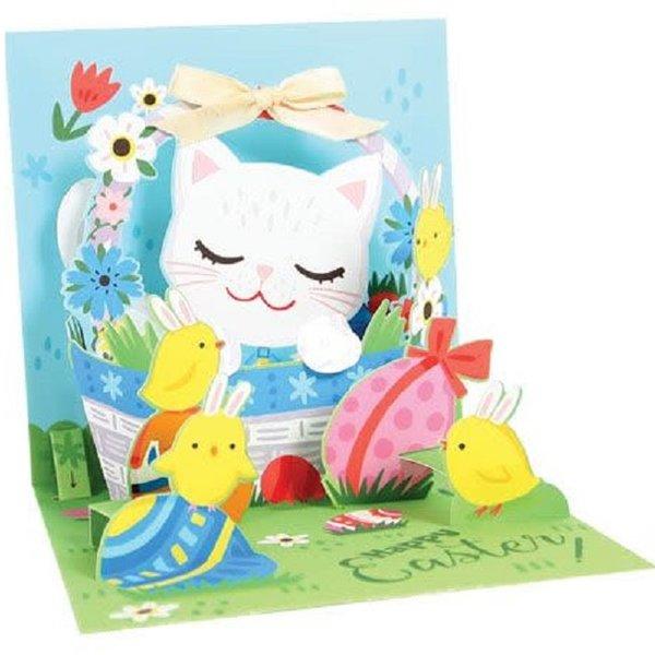 Easter Card - Kitten