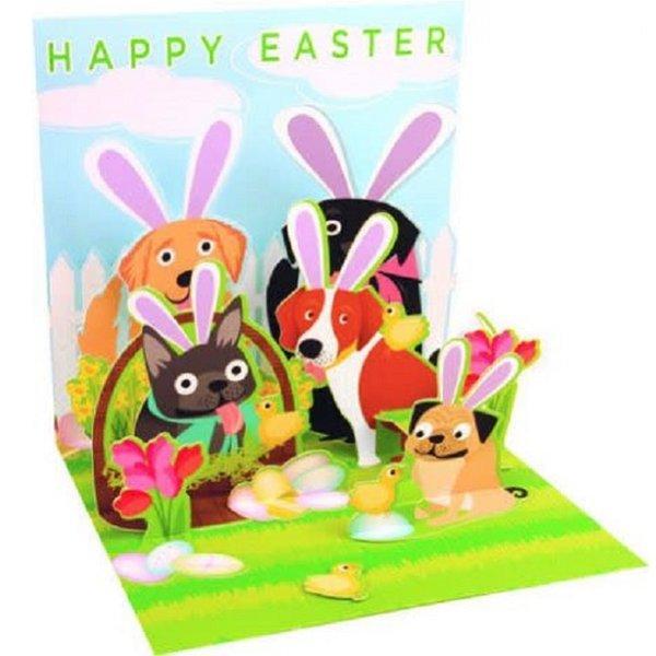 Easter Card - Dog