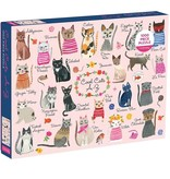 Cool Cats A-Z 1000 piece Puzzle 9780735349087