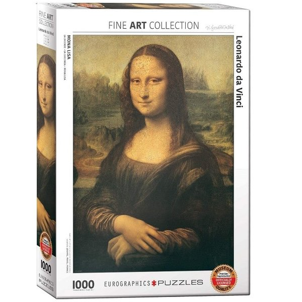 Mona Lisa 1000 piece puzzle