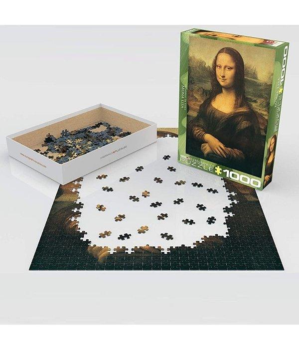 Mona Lisa 1000 Piece Puzzle 628136612036