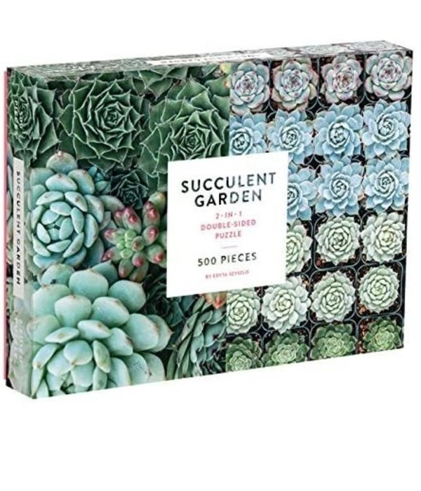 Two-sided Succulent Puzzle 9780735355309