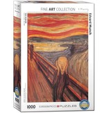 The Scream 1000 piece puzzle  628136644891