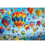 PUZZLE-Balloons in Flight 1000 piece 9781441330536
