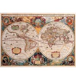 PUZZLE-Old World Map 1000 Piece 9781441330604