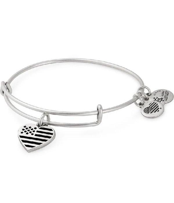Heart Flag Bracelet