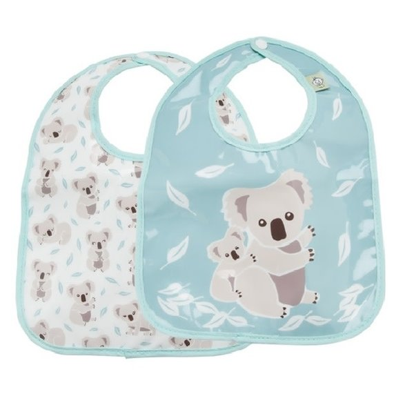 Set of 2 Koala Bear Bibs