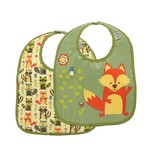 Set of 2 Fox Bibs