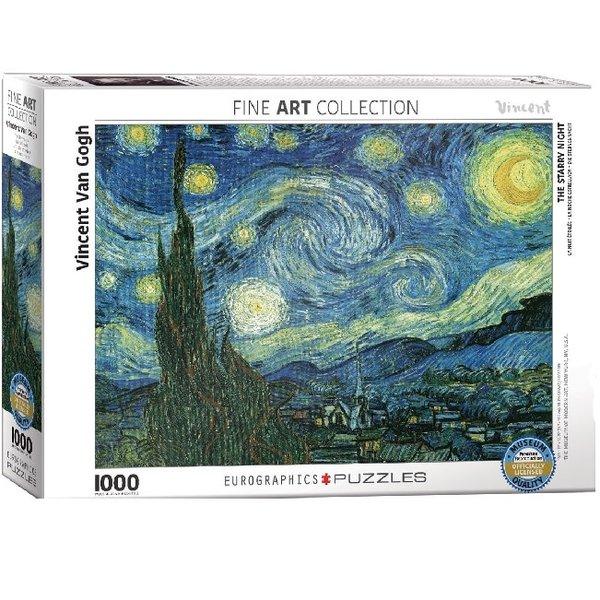 1000 Piece Starry night Puzzle