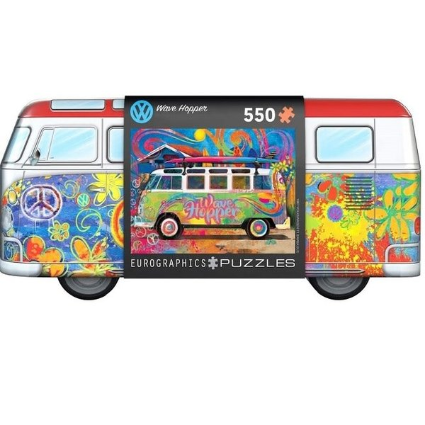 550 Piece VW Wave Hopper Van Puzzle