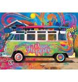 E550 Piece VW Wave Hopper Van Puzzle