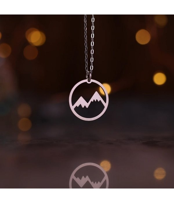 Silver Peak Experience Necklace