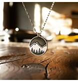 Silver Explore Necklace