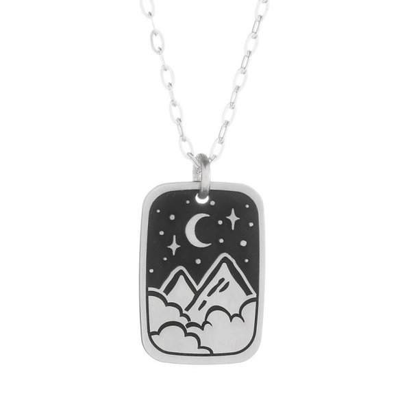 Silver A Night in the Stars Necklace