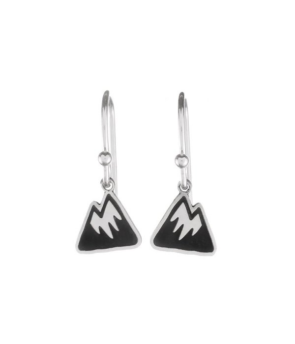 Silver Mountain Dangle Earrings