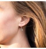 Silver Mountain Dangle Earrings