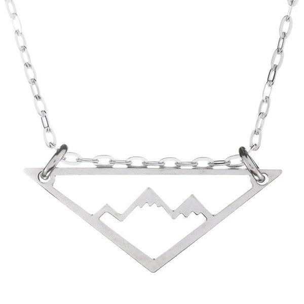 Silver Mountain Adventure Necklace