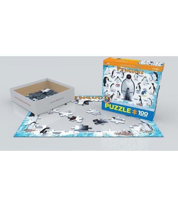 Penguins 100 Piece Puzzle