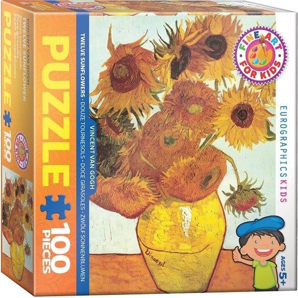 Sunflowers 100 Piece Puzzle