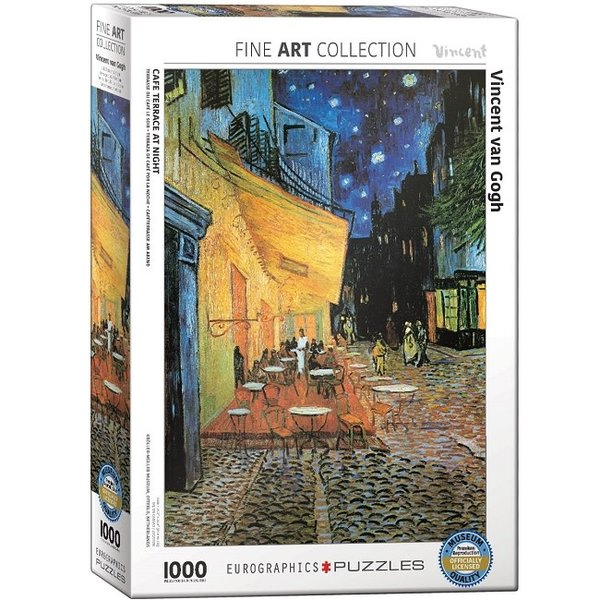 Cafe Terrace at Night 1000 Piece Puzzle