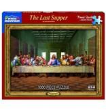 White MTN Puzzles Last Supper 1000 Piece Puzzle
