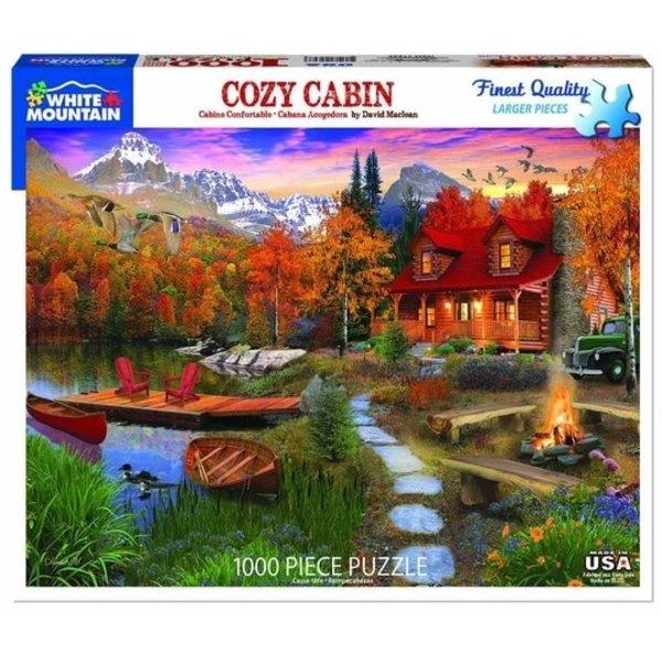 Cozy Cabin 1000 Piece Puzzle