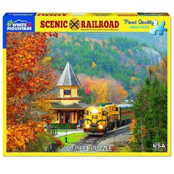 Scenic Railroad 1000 Piece Puzzle