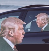 Ride With Trump Car Sticker